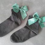 Socken mit Schleife von Chepree