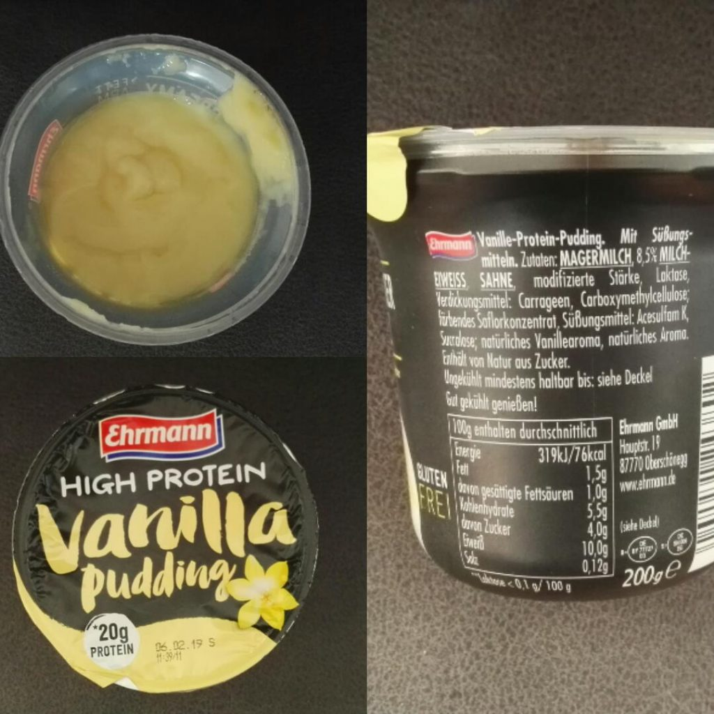 proteinpudding vanilj