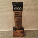 Syoss Wash OUT Warmes Blond