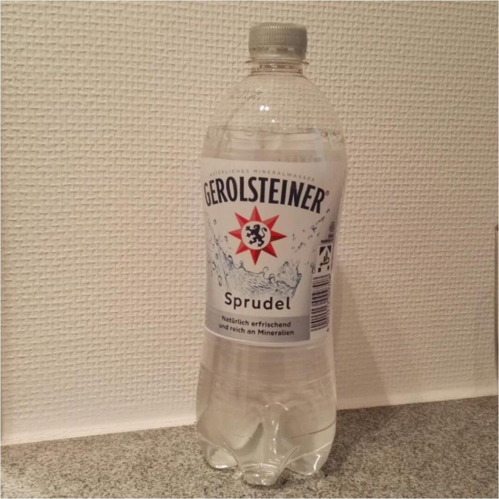 Flasche Gerolsteiner Sprudel