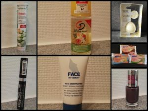 Bilder der getesteten Produkte