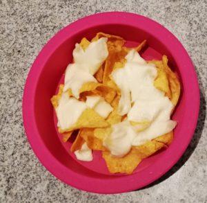 Mit Käse überbacken