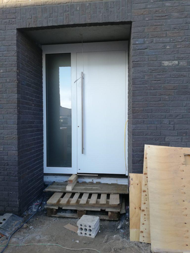 Haustüre von außen