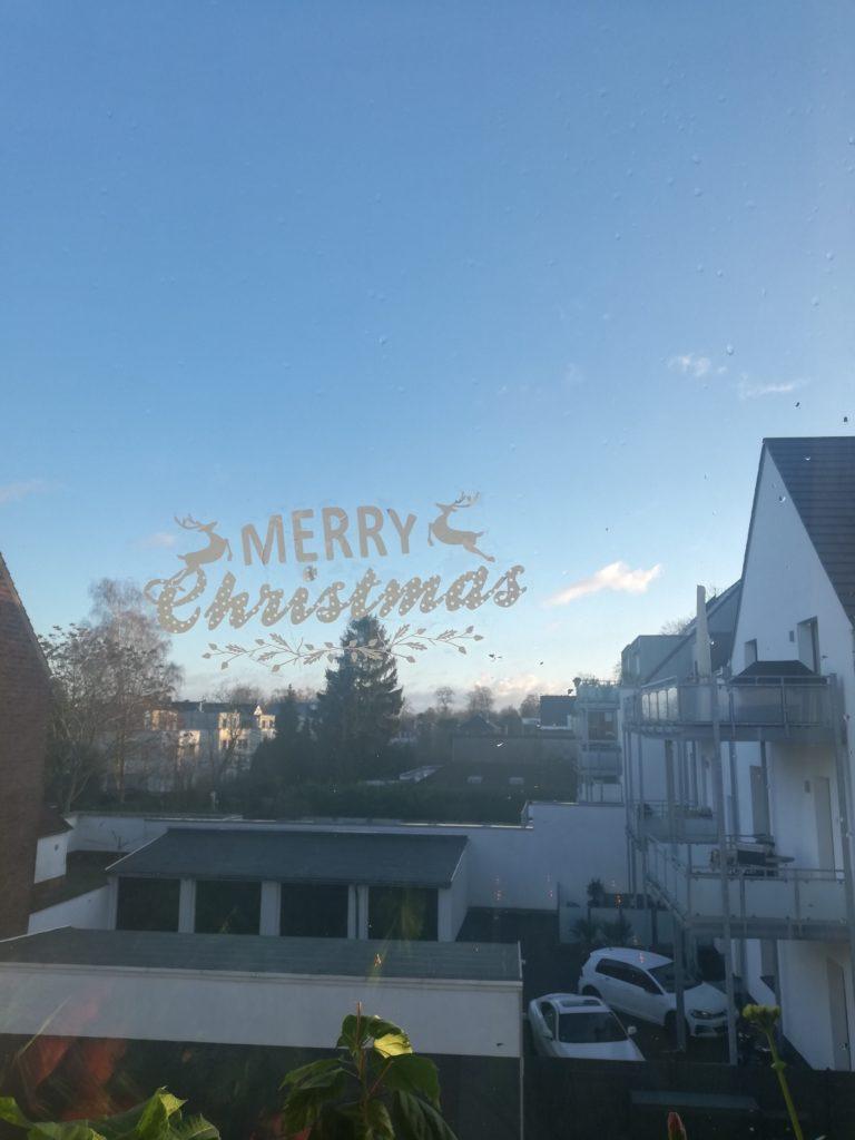 "Fensterbild ""merry Christmas"""