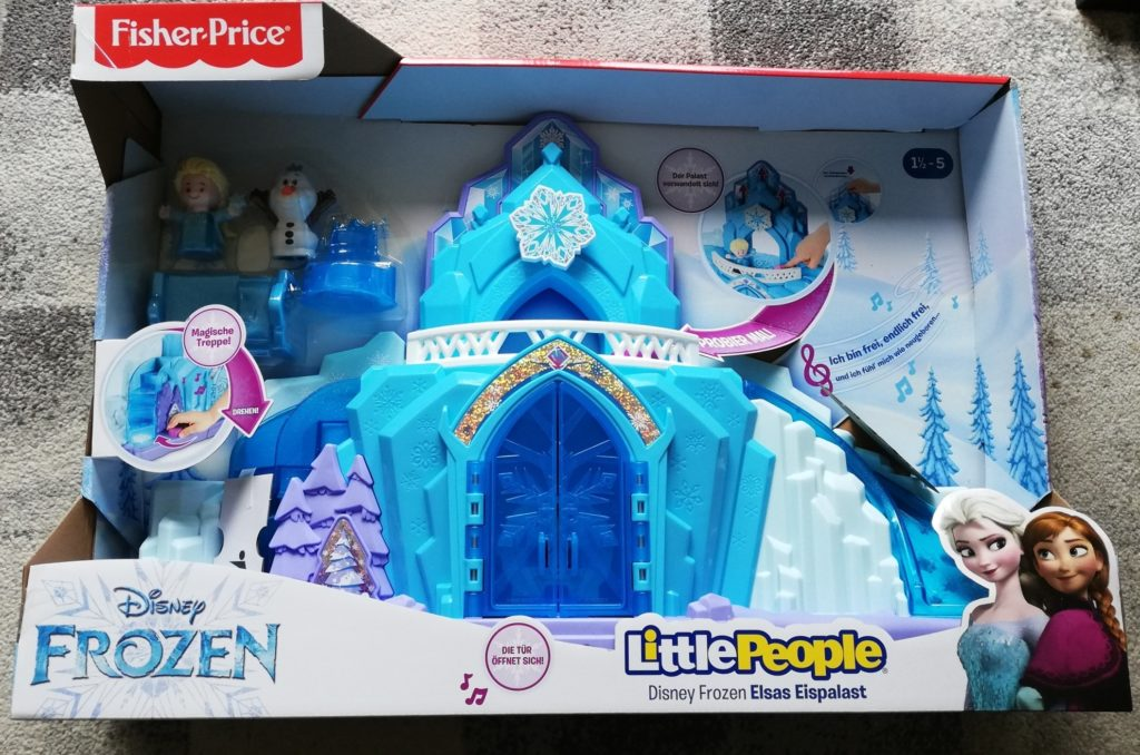 Little People Frozen Elsas Eispalast von Fisher-Price