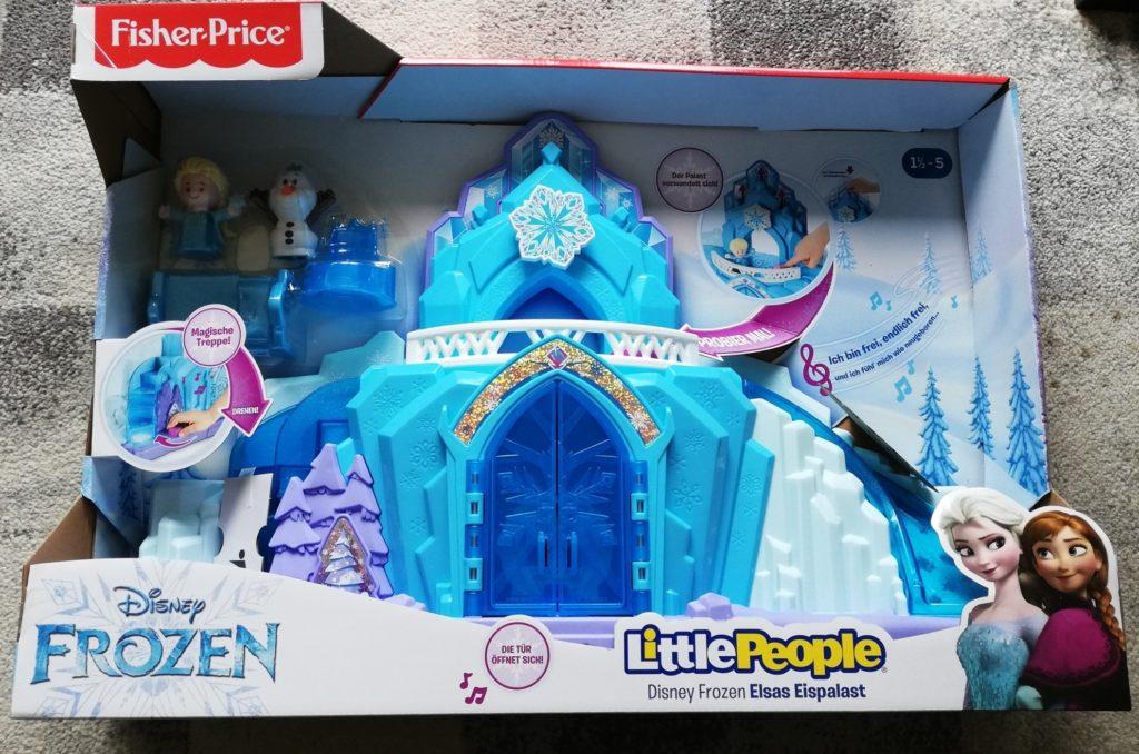 Little People Frozen Elsas Eispalast von Fisher-Price