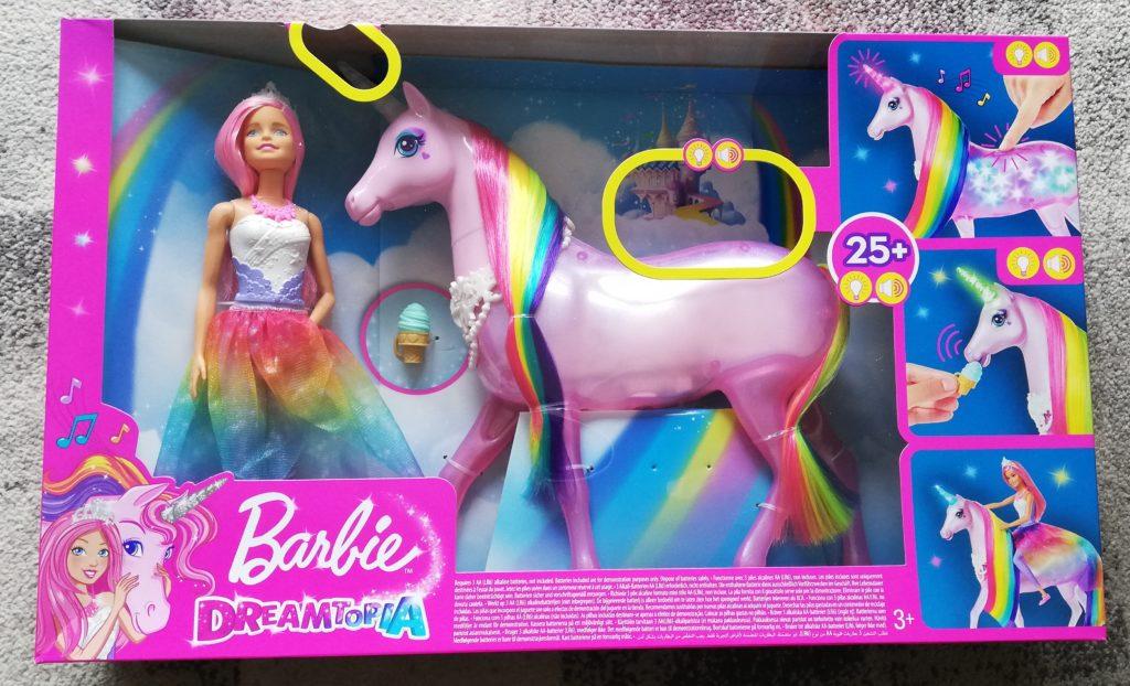 Barbie Dreamtopia Magisches Zauberlicht Einhorn von Mattel