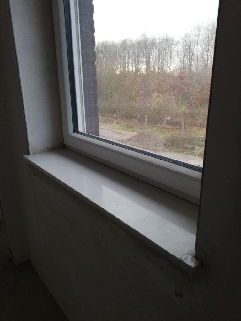 Fensterbank in der Ankleide