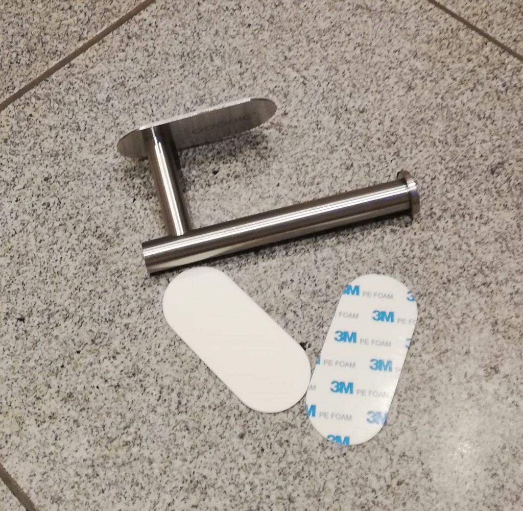 Adoric Toilettenpapierhalter, Lieferumfang