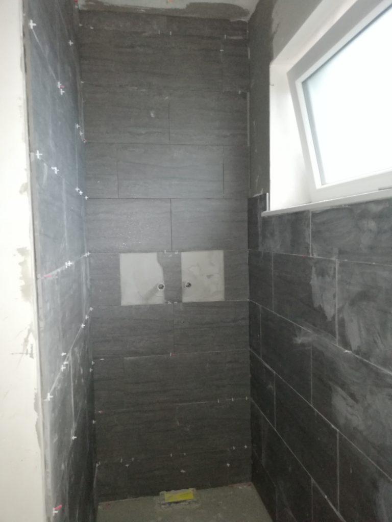 Dusche im Tagesbad