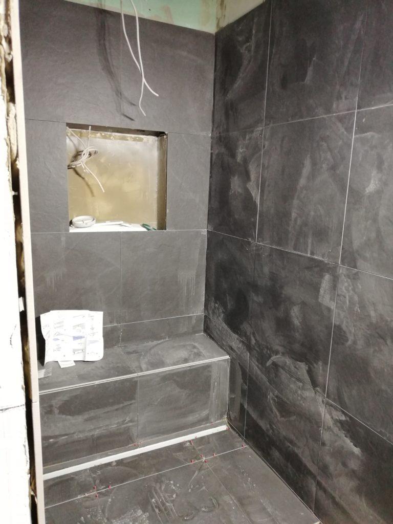 Fliesen in der Dusche
