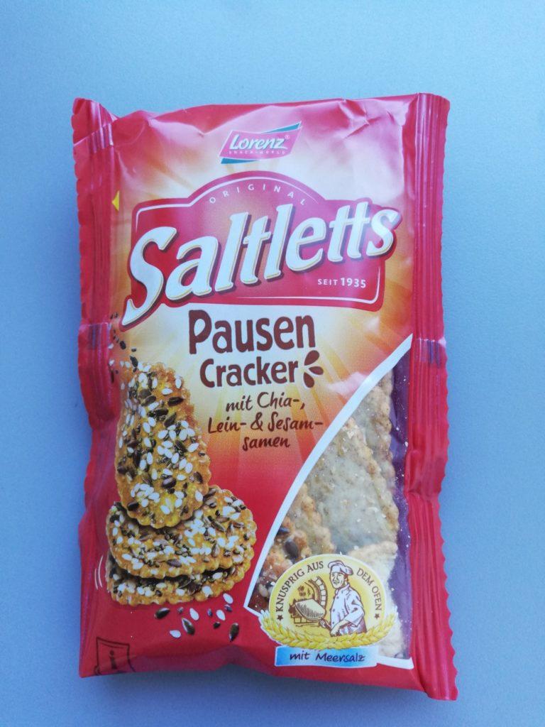 Verpackung Pausencracker von Saltletts