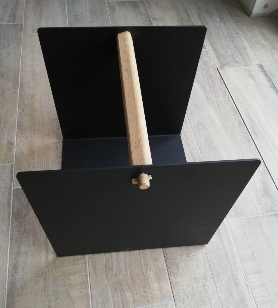 Holzkorb von Kanuk - Seitenansicht