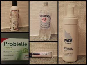 Collage der Produkte