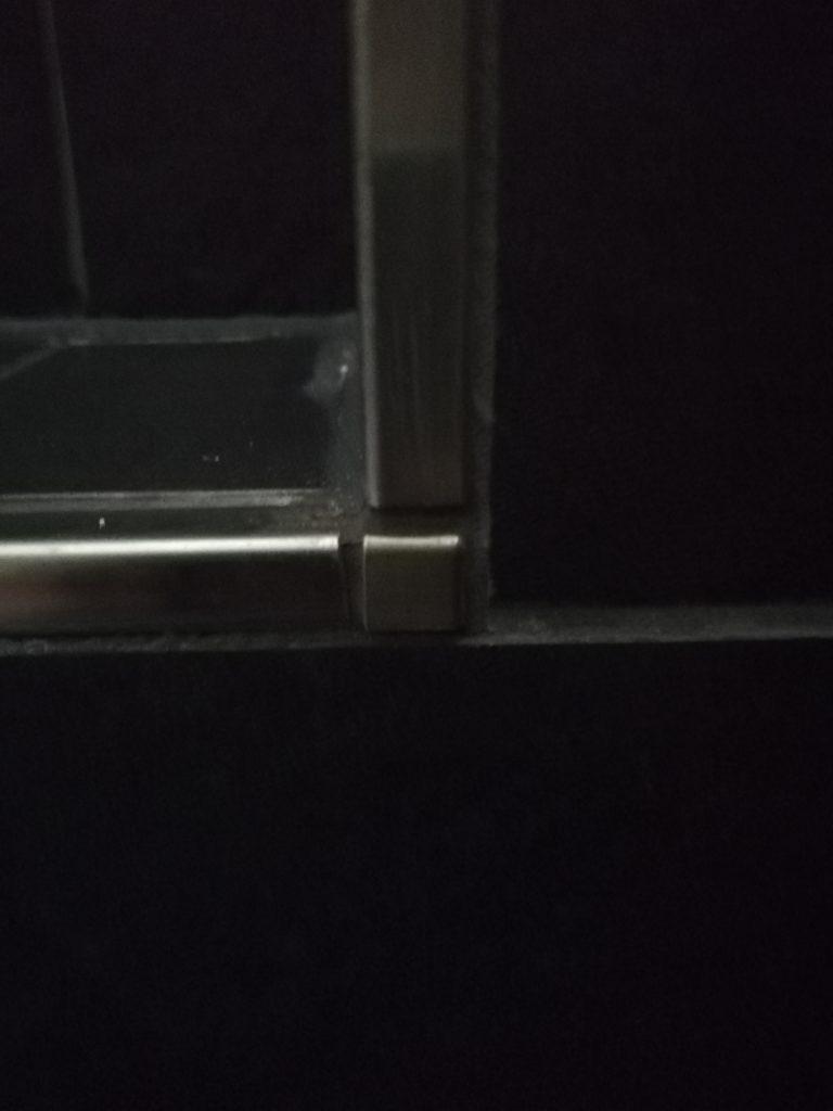 Ecken in den Duschnischen