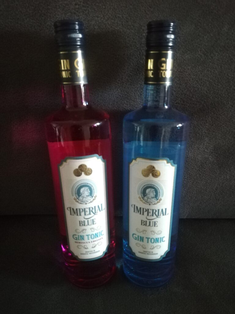 Imperial Blue Gin Tonic und Hibiscus Edition