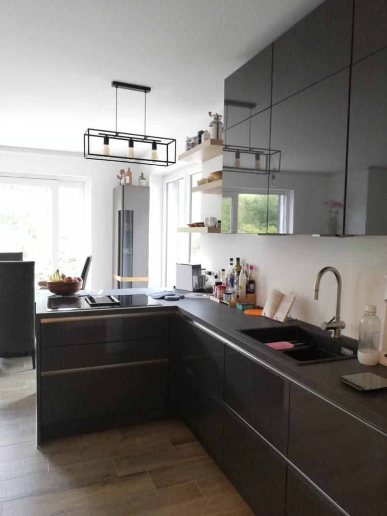 Blick von der Back-up Küche aus