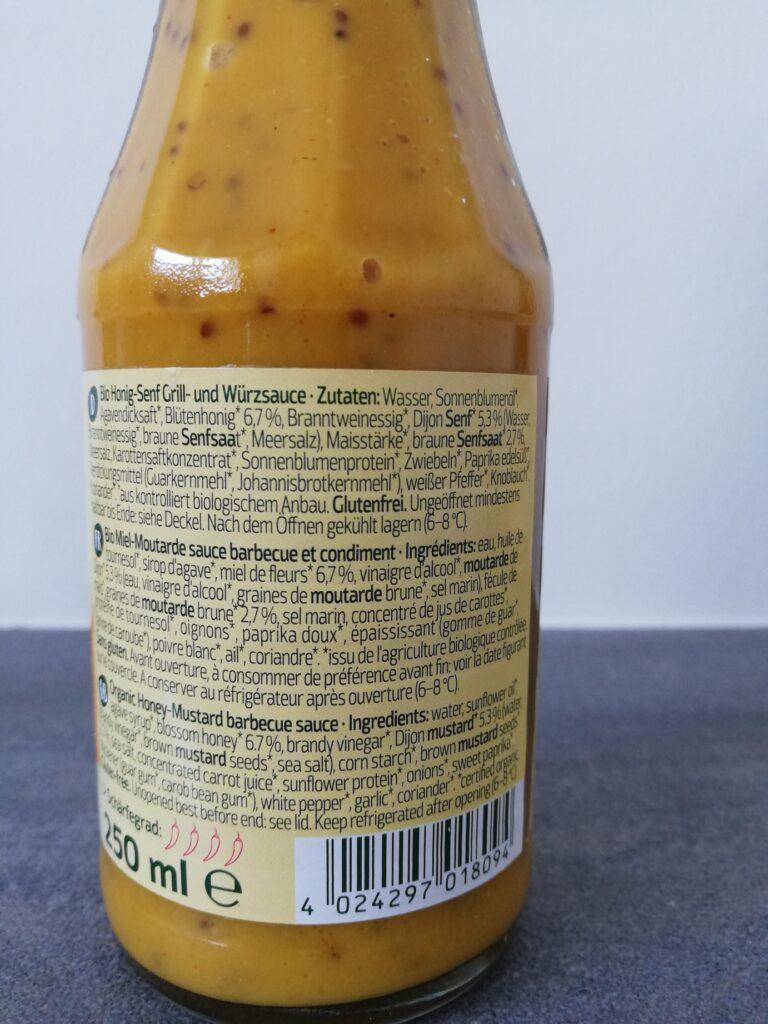 Honig-Senf Sauce von Naturata