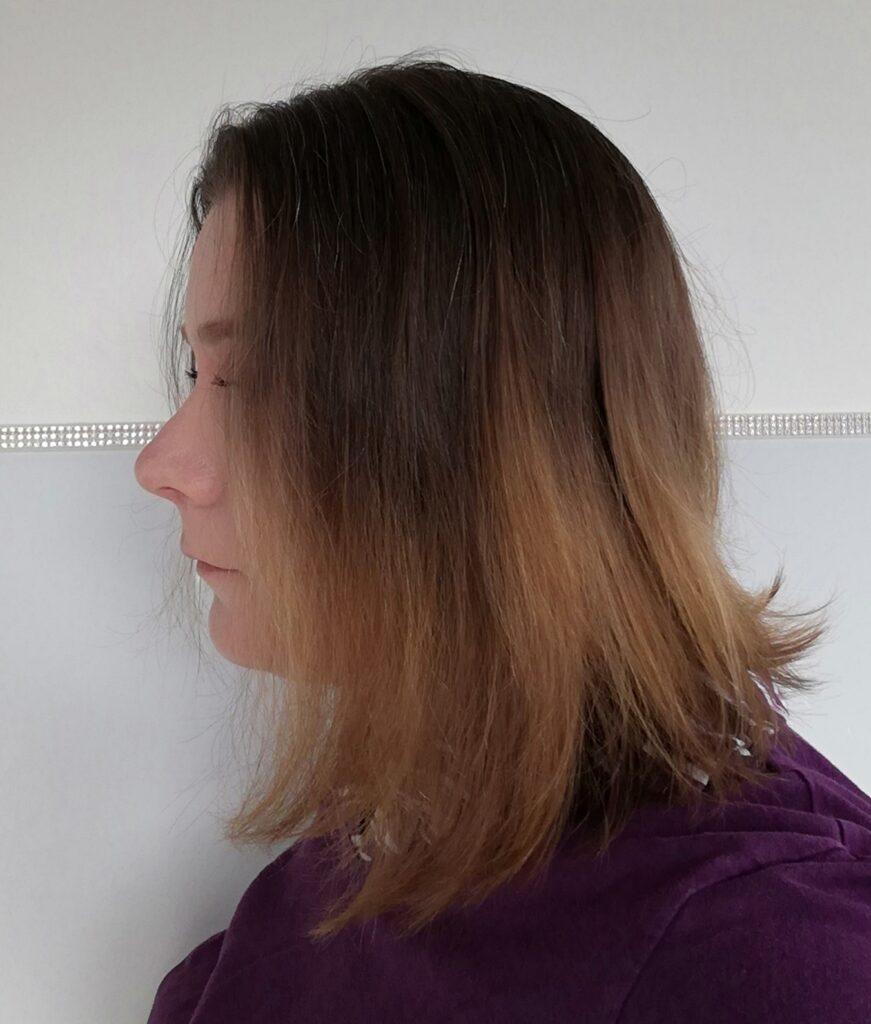 Nachher Bild der Haare