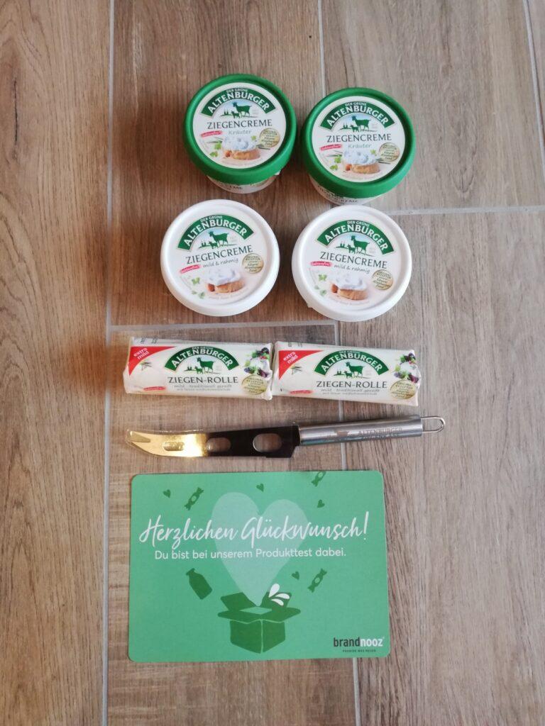 Der grüne Altenburger Ziegenkäse