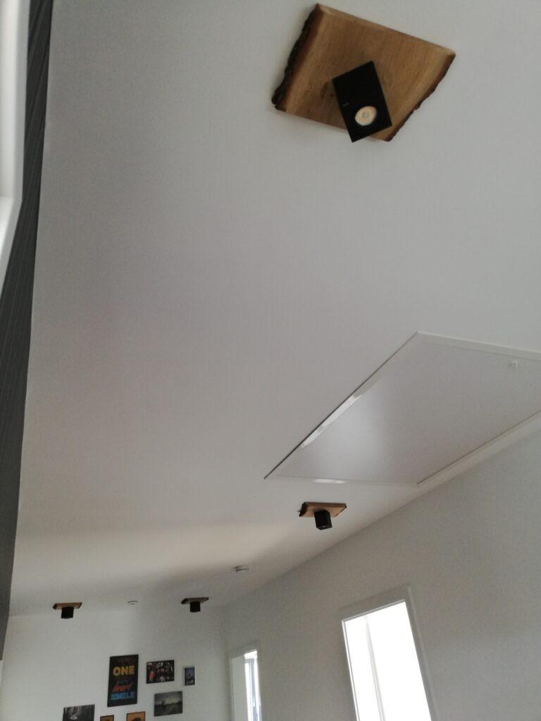 DIY Lampen im Flur im Obergeschoss