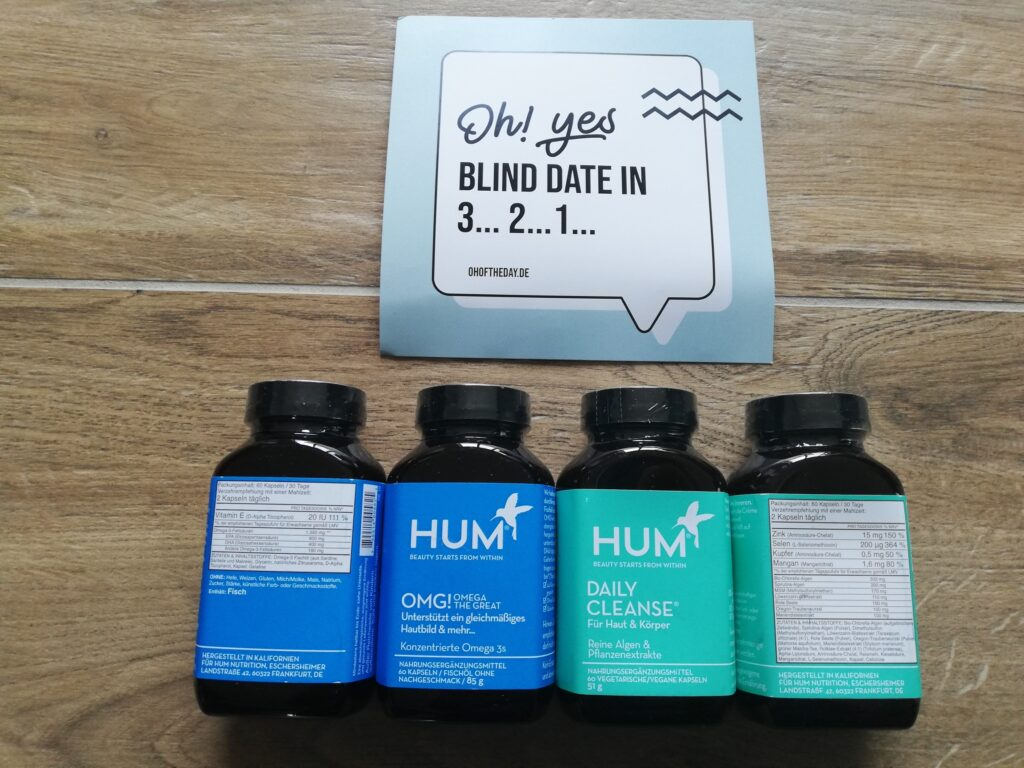 HUM Nutrition OMG und Daily Cleanse