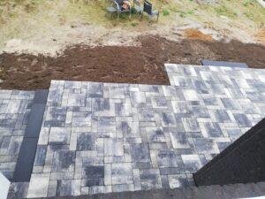 Terrasse aus dem OG geknipst