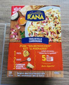Verpackung Tagliatelle Carbonara