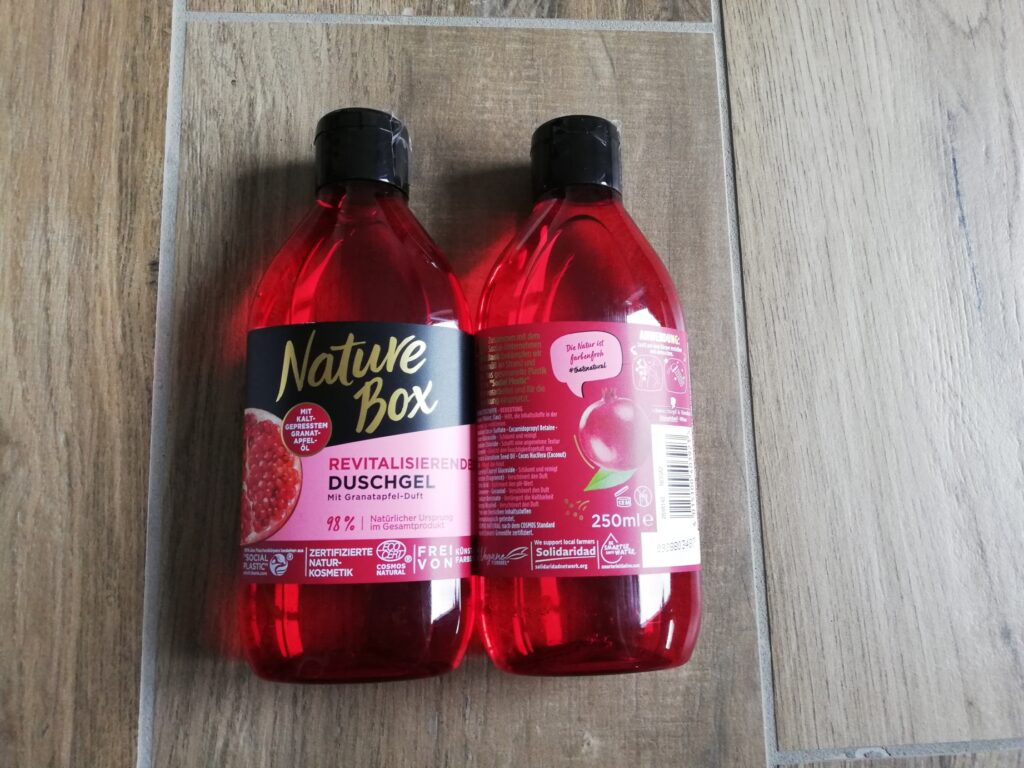 Granatapfel Duschgel von Nature Box