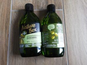 Oliven Duschgel von Nature Box