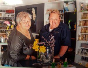 Die beiden Inhaber Richard und Dagmar