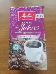 Verpackung Kaffee des Jahres 2021 von Melitta