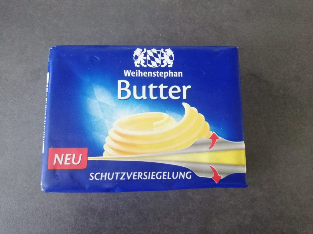 Butter von Weihenstephan mit neuer Schutzversiegelung
