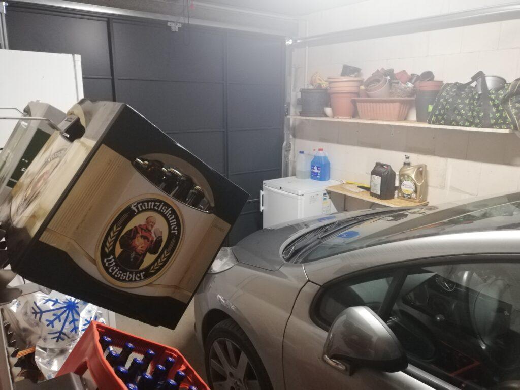 Standard Garage mit genügend Platz