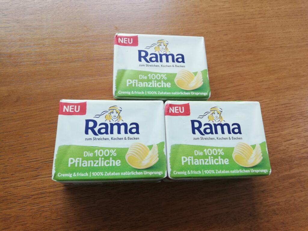 Die 100% Pflanzliche von Rama