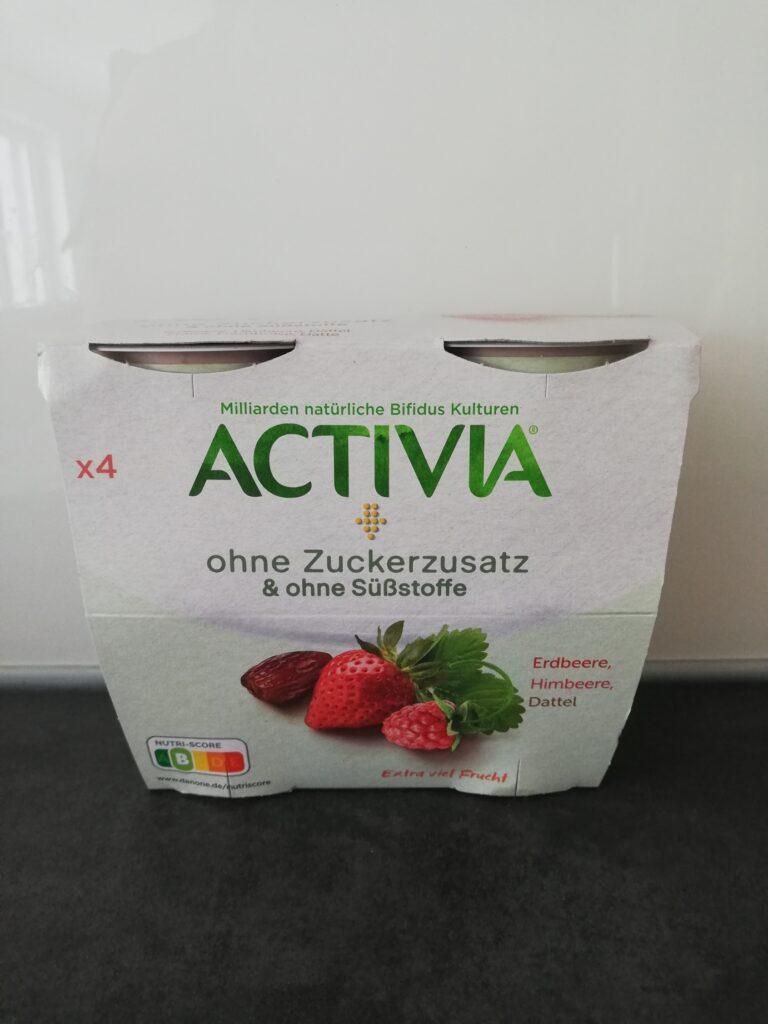 Activia ohne Zuckerzusatz Viererpack